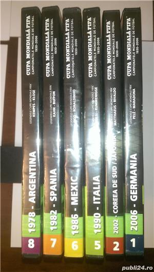 "Vand 6 DVD-uri originale ""Istoria Campionatelor Mondiale de Fotbal  - imagine 5"