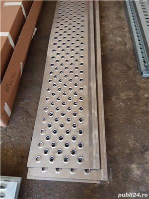 Tabla ambutisata pentru platforme auto din metal galvanizat (grosime 3 mm) sau aluminiu (grosime 4m - imagine 5
