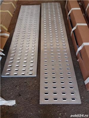 Tabla ambutisata pentru platforme auto din metal galvanizat (grosime 3 mm) sau aluminiu (grosime 4m - imagine 4