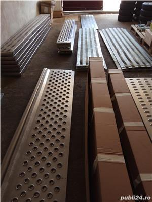 Tabla ambutisata pentru platforme auto din metal galvanizat (grosime 3 mm) sau aluminiu (grosime 4m - imagine 3