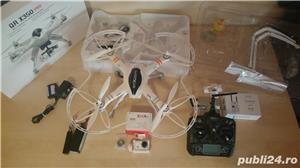 Drona Walkera QR X350PRO pentru filmari aeriene - imagine 2