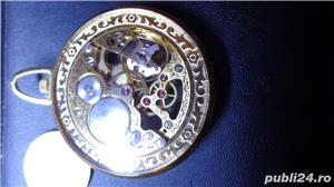 ceas de buzunar CATOREX 17 rubine mecanic suflat aur 18 k - imagine 2