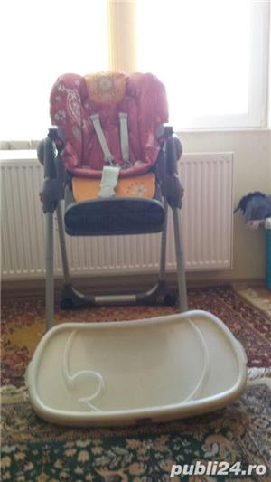 scaun cu masa chicco - imagine 1