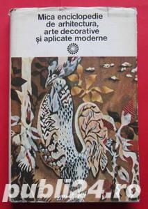 Mica Enciclopedie de Arhitectura, Arte Decorative - imagine 1