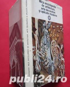 Mica Enciclopedie de Arhitectura, Arte Decorative - imagine 2