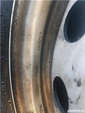 Vand jante cu anvelope 195/65/R16 C -uri 4 anotimpuri pt Mercedes - imagine 4