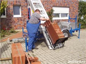 Inchiriem Lift exterior pentru urcat/coborat materiale pana la 25m. - imagine 8