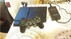 ps2 slim modat , fifa 14 , 1 maneta ,playstation 2 - imagine 1