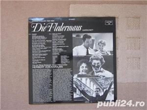 Vinil Strauss –Die Fledermaus (Liliacul) – Herbert Von Karajan (nou) - imagine 2