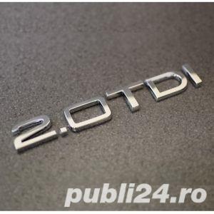 Emblema Audi 2.0 TD,3.0 TDI - imagine 4