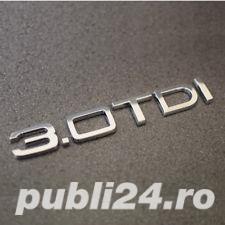 Emblema Audi 2.0 TD,3.0 TDI - imagine 8