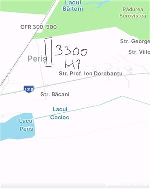 Vand teren intravilan Padurea Scrovistea Peris parcele 6600m2 sau 3300m2 - imagine 2