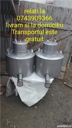 Vand cazane pentru tuica din inox alimentare - imagine 1