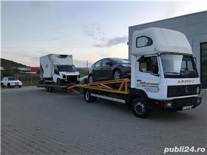 Mercedes-benz 814 transportor auto - imagine 6