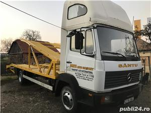 Mercedes-benz 814 transportor auto - imagine 4