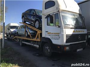 Mercedes-benz 814 transportor auto - imagine 1