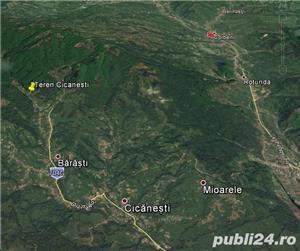Teren Cicanesti sat Barasti la 19km de Curtea de Arges - imagine 7