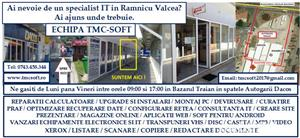 Service IT TMC-SOFT Ramnicu Valcea - imagine 8