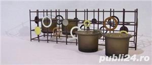 Suport metalic 4 lumanari - imagine 3