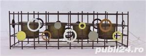 Suport metalic 4 lumanari - imagine 1