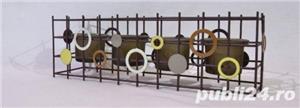 Suport metalic 4 lumanari - imagine 4