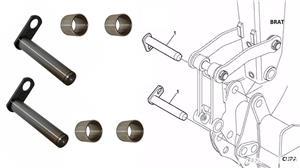 Bucsi si Bolturi buldoexcavatoare Komatsu Terex New holland Case580 etc preturi mici - imagine 6