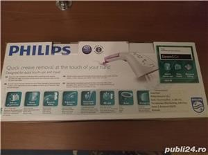 Aparat de calcat vertical Philips Steam & Go GC320/55, 1200 W - imagine 4