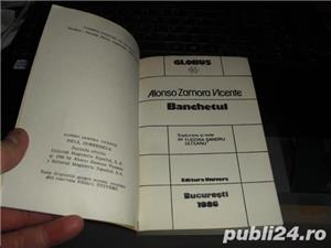 """Banchetul"" de Alonso Zamora Vicente Editura Univers Bucuresti 1986 - imagine 3"