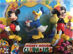 Set 6 figurine cu Mickey Mouse,.Donald,Daisy si Minnie,noi - imagine 2