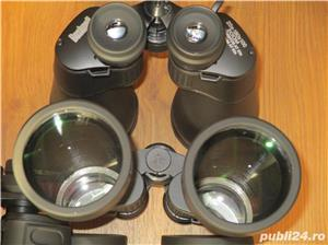 Binoclu Bushnell zoom 20x-180x100 vanatoare pescuit, greutate 1,7Kg, invelis cauciuc, geanta transpo - imagine 3
