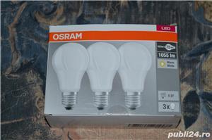 Iluminare - Set 3 Becuri Led Osram - E27 - 9,5 W -> 60 W - 806 lm  - imagine 1