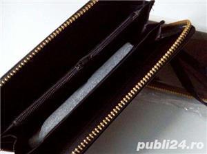 Portofel/portofele imitatie piele maro/negru dama/fete NOU-SIGILAT - imagine 3