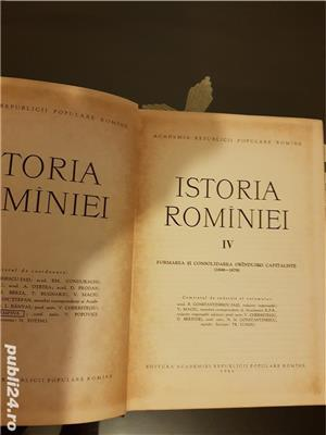 Istoria Romaniei 4 volume - imagine 8
