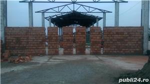 Vand Hala cu suprafata de 450 mp, pe platforma betonata, g=20 cm, de 820 mp - Dancu, str Dacia 11 - imagine 1