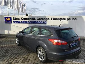 Ford Focus   Break   1.6D   Xenon   Jante aliaj   Carlig remorcare   Scaune incalzite   Clima   2014 - imagine 3