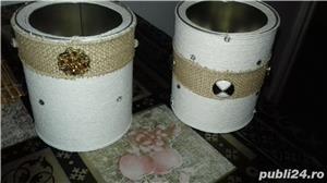 Cutii depozitare si accesorii handmade - imagine 2