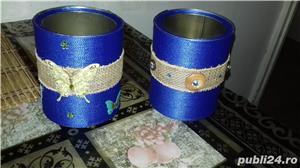 Cutii depozitare si accesorii handmade - imagine 3