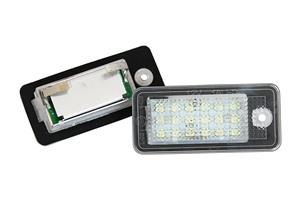 Lampi LED numar Audi A3 A4 B6 A4 B7 A6 C6 A5 Q7 A8 RS4 - imagine 1