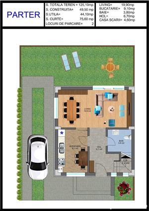 Vila tip duplex disponibil imediat comision 0 sectorul 4 - imagine 3