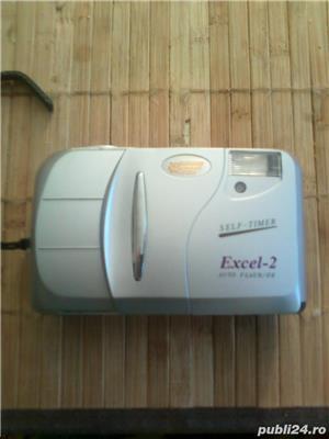 Aparat foto cu film Excel 2 Wizen Auto Flash DX-W Self-Timer - imagine 6