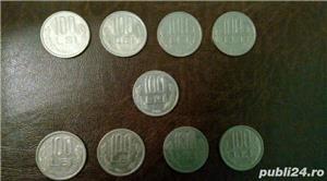 Vand monezi  (100 de lei moneda) - imagine 1