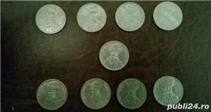 Vand monezi  (100 de lei moneda) - imagine 2