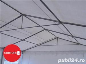 Promotie:  6X14 M CORT EVENIMENTE PROFESSIONAL XXL, PVC ALB - imagine 7