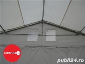 Promotie:  6X14 M CORT EVENIMENTE PROFESSIONAL XXL, PVC ALB - imagine 8