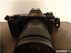 aparat foto Canon T50 si Teleobiectiv Macro Canon Zoom Lens FD 75-200 mm, 1:4.5 - imagine 3