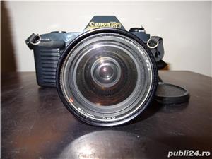 aparat foto Canon T50 si Teleobiectiv Macro Canon Zoom Lens FD 75-200 mm, 1:4.5 - imagine 6