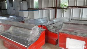 Vitrina/lada frigorifica/ vitrine frigorifice cu geam curbat,noi 2,5m  - imagine 12
