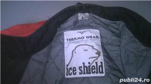 Vand geaca sky cu protecti la cadere marca ice shield  - imagine 1