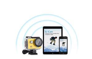 Camera sport subacvatica Eken H9R 4k Action Camera gen GoPro SjCam - imagine 4