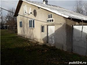 vand casa la tara,garaj,gradina pomi fructiferi,put in curte,vie,padure com.Rica,jud.Arges - imagine 6